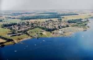 Perry from the air circa 1980's